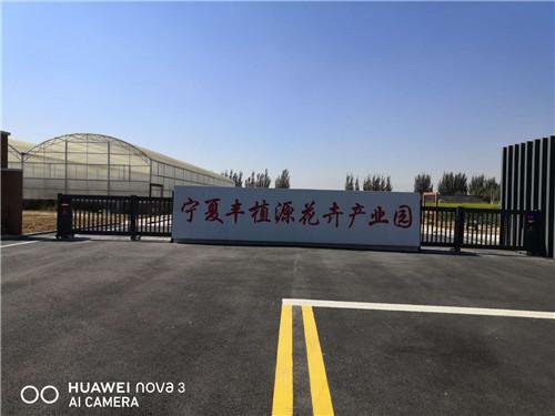 宁夏丰植源花卉产业园(智能平移门)